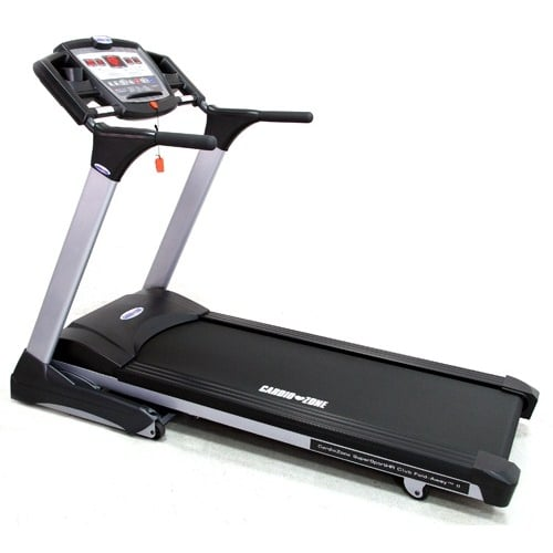 CardioZone Commercial SuperSport II Club Fold-Away Treadmill