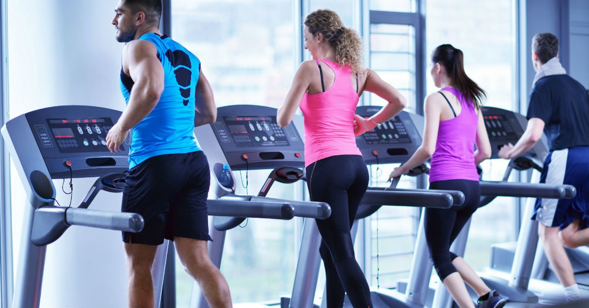 Gym Etiquette in The Treadmill Room
