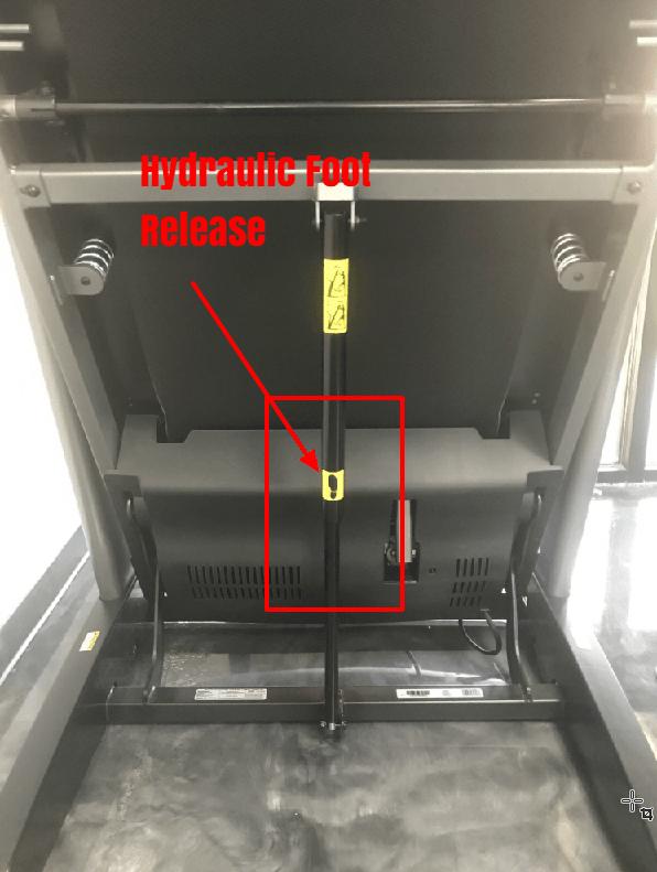 2450 Hydraulic Foot Release