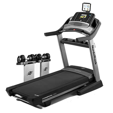The NordicTrack Commercial 1750 Treadmill