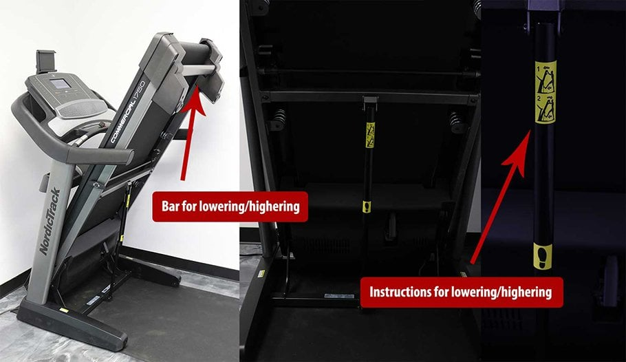 NordicTrack Commercial 1750 Treadmill Review - How To Fold And UnFold Your Treadmill