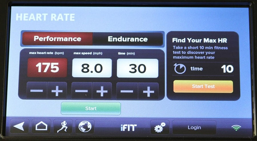 Heart Rate App Dashboard