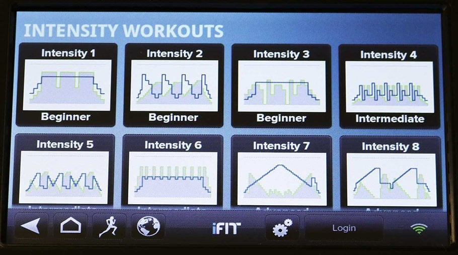 High Intensity Training App - 9 Different Running Programs