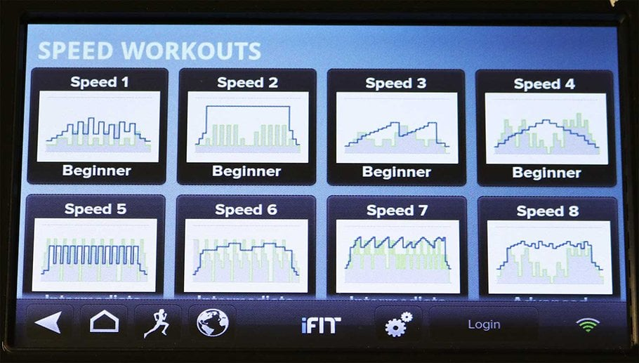 Speed Training App - 10 Differnt Running Programs