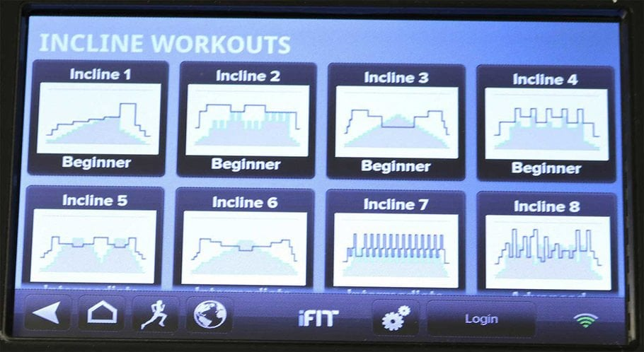 Incline Training App - 10 Different Running Programs