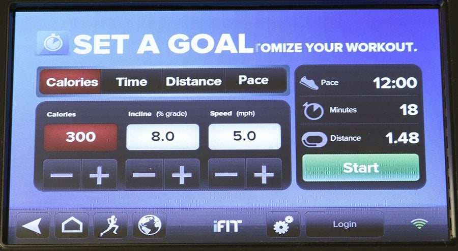 Set Personal Workout Goals With iFit Goals