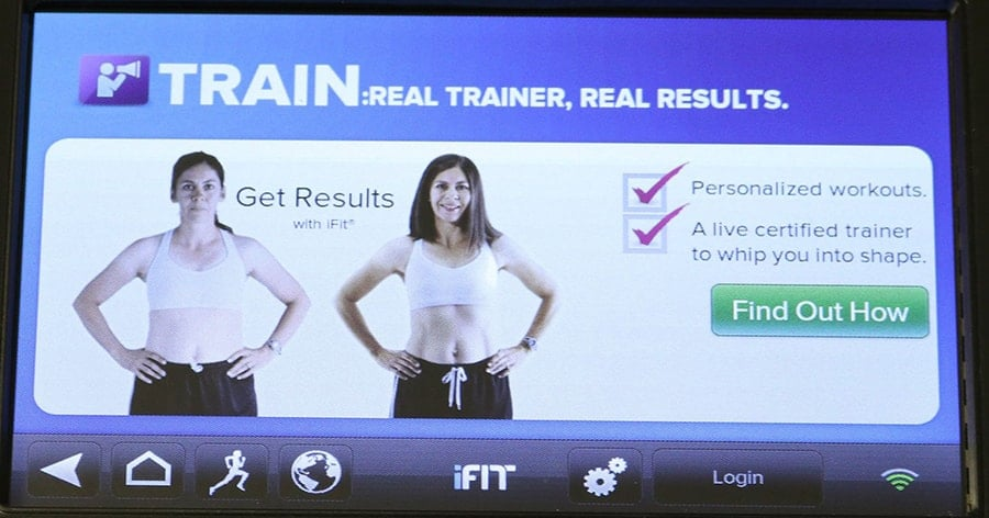 Train with an iFit personal Trainer