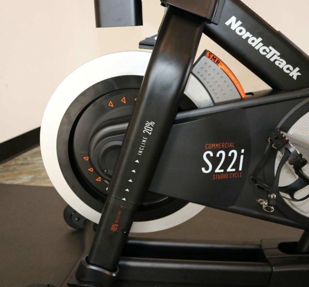 NordicTrack S22i Studio Cycle Flywheel