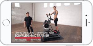 Bowflex Max Trainer App