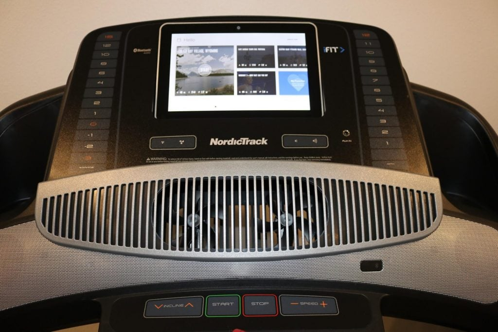 NordicTrack Commercial 1750 Display