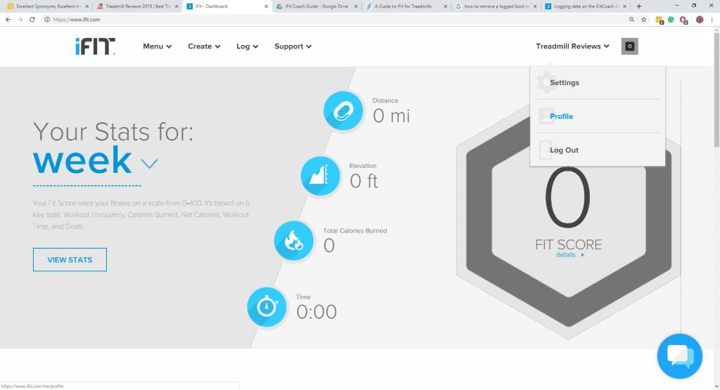 iFit Profile
