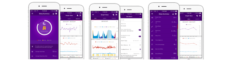 iFit Sleep App User Interface