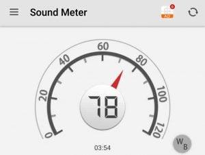 Noise Level - 78