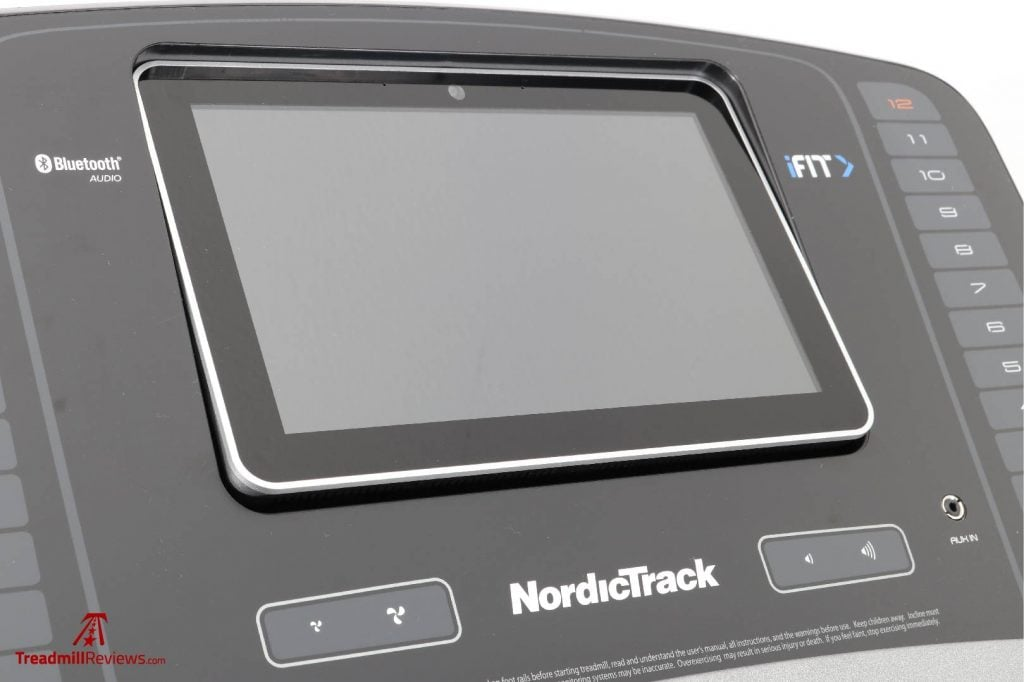 NordicTrack Commercial 1750 Treadmill Touchscreen Display