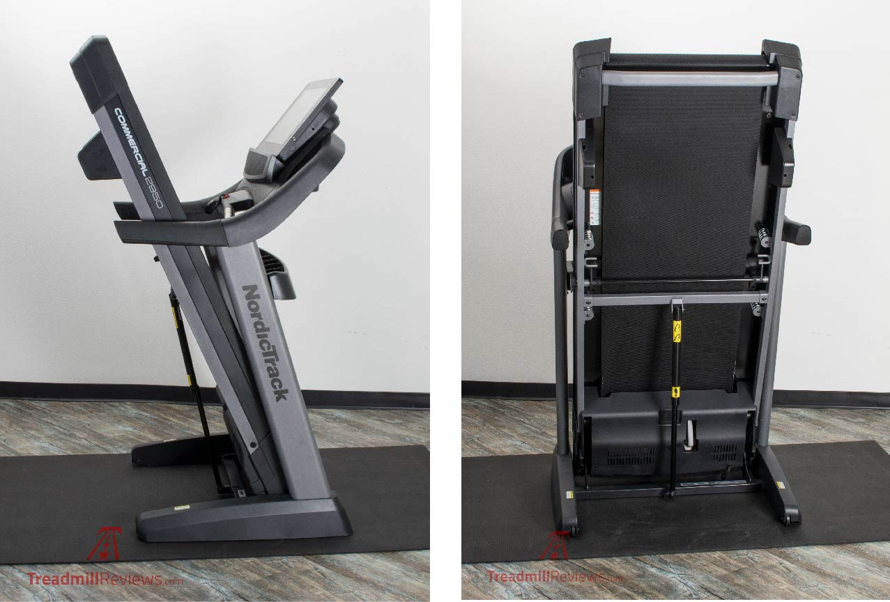 NordicTrack Commercial 2950 Treadmill Folding Deck