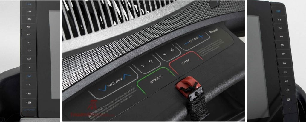 NordicTrack Commercial 2950 Treadmill Speed Control