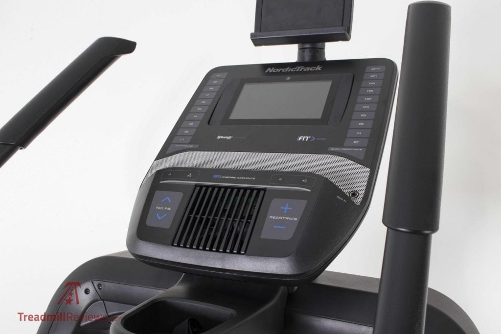 NordicTrack Freestride Trainer FS7i LCD Screen Display