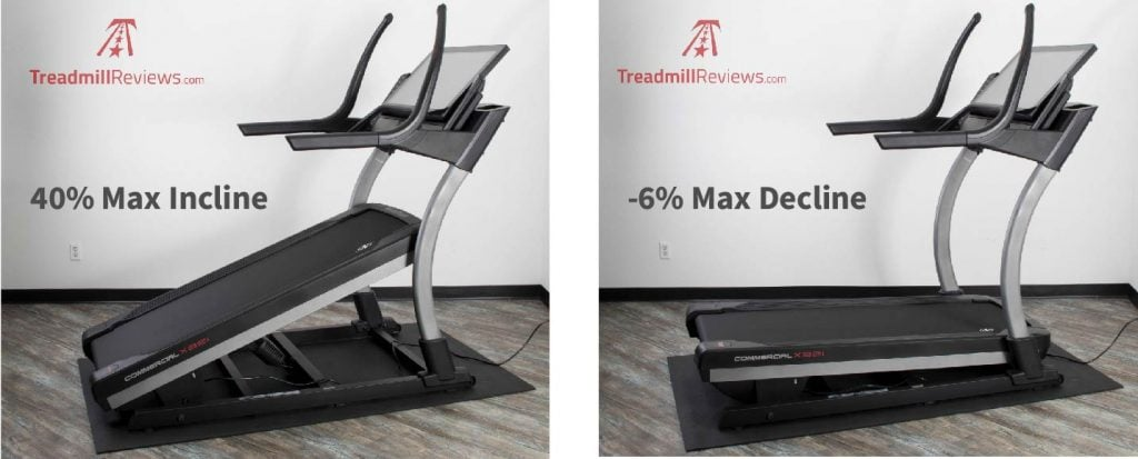NordicTrack X32i Incline Trainer Incline and Decline