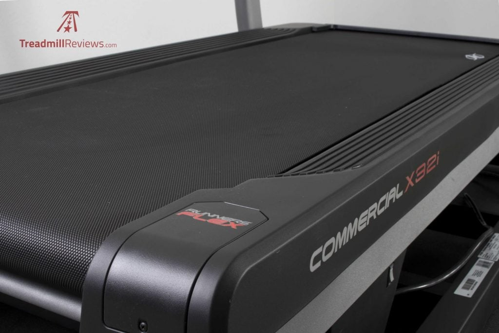 NordicTrack X32i Incline Trainer Running Area
