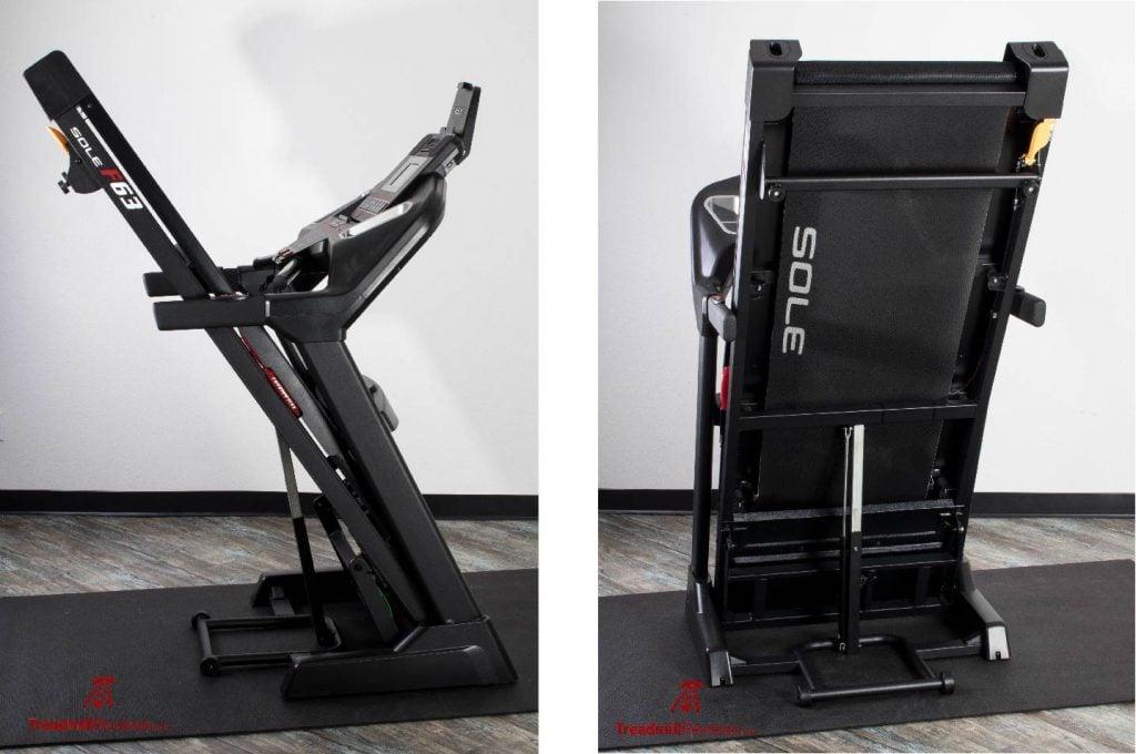 Sole F63 Treadmill Folding Deck