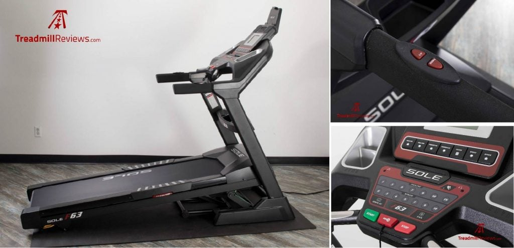 Sole F63 Treadmill Incline and Decline