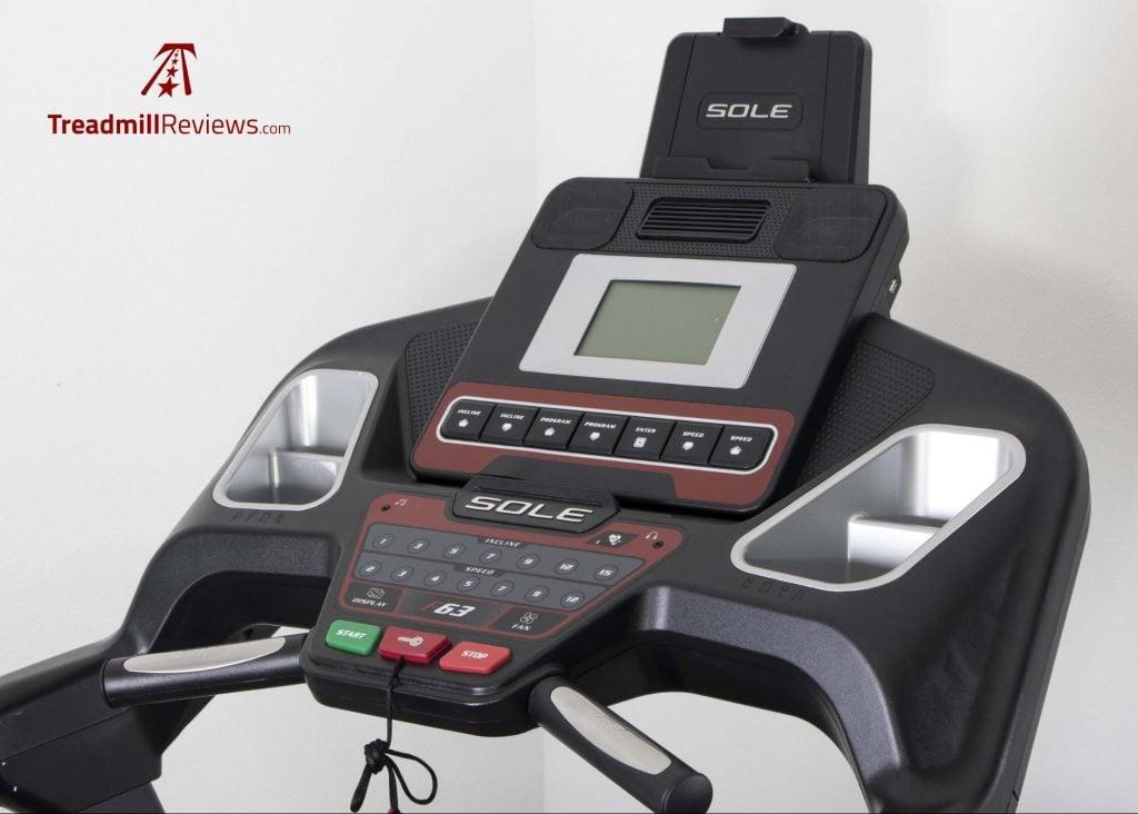 Sole F63 Treadmill Speed Control