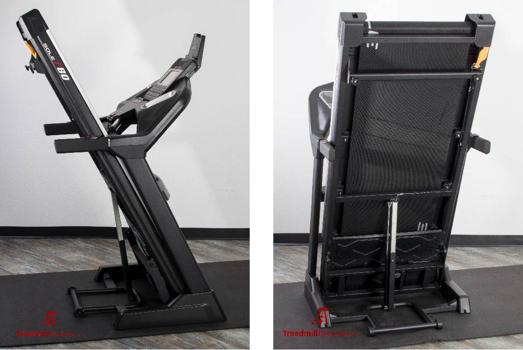 Sole F80 Treadmill Hydraulic Folding Deck