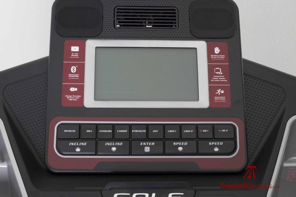 Sole F80 Treadmill LCD Monitor