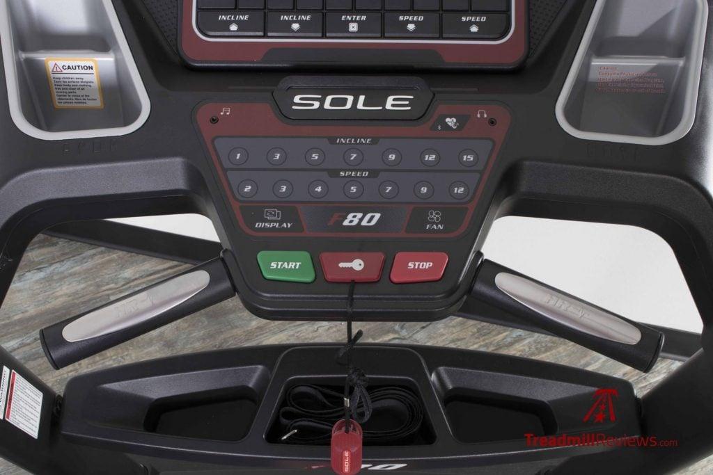 Sole F80 Treadmill Max Speed