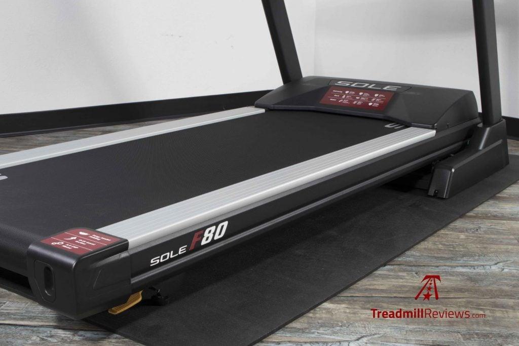 Sole F80 Treadmill Running Surface