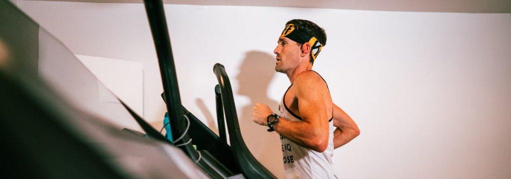 Zach Bitter 100 Miles On A Treadmill