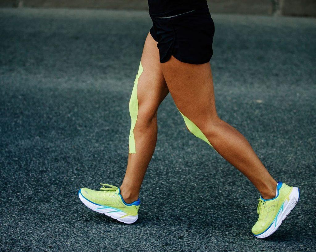 KT Tape On Runners Knee